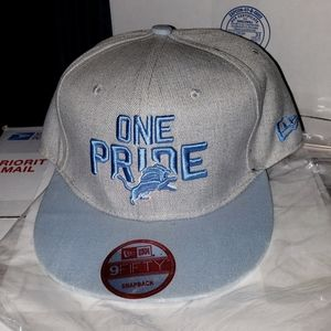Detroit Lions New Era 9fifty NFL snapback hat
